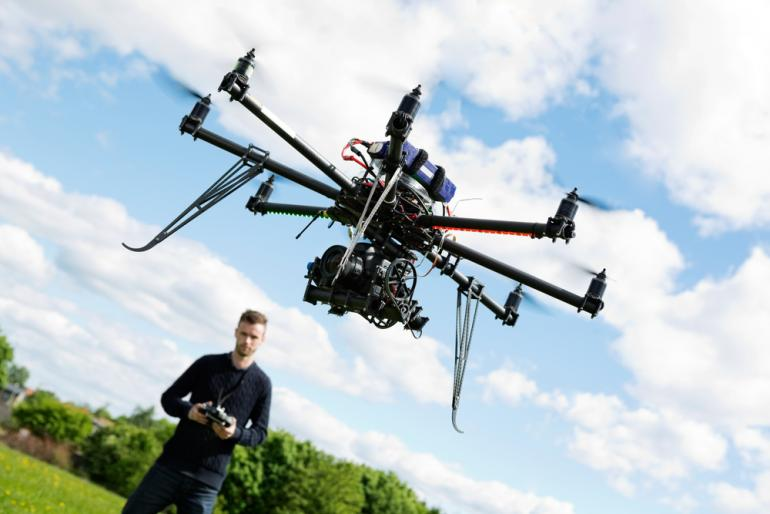 Courage, Curiosity and a Drone? Spectacular